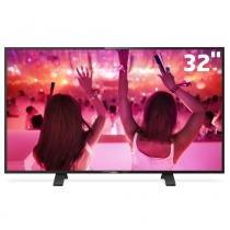 Tv led 32 hd philips 32phg5101/78 com conversor digital integrado, entradas hdmi e entrada usb -