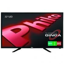 "TV LED 32"" Philco PH32B51DG - Conversor Digital 1 USB 2 HDMI"