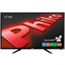 """TV LED 32"""" Philco PH32B51DSGW HD com Conversor Digital e Função Smart 2 HDMI 1 USB -"""