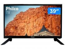 "TV LED 39"" Philco PTV39F61D Conversor Digital - 2 HDMI 1 USB"