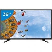 "TV LED 39"" Semp DL3959W - Conversor Digital 2 HDMI 1 USB"