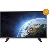 Tv led 40 aoc le40f1465, full hd, 2 hdmi, usb, conversor digital integrado -
