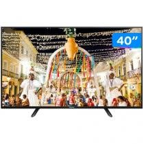 "TV LED 40"" Panasonic Full HD Viera TC 40D400B - Conversor Digital 2 HDMI 1 USB"