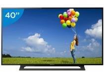 "TV LED 40"" Sony Full HD KDL-40R355B - Conversor Integrado 2 HDMI 1 USB"