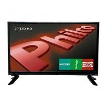 "TV LED HD Philco 20"" PH20M91D, HDMI, USB, Conversor Digital - Philco"