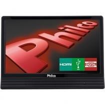 """TV LED Philco 14"""" PH14E10D, HDMI, USB, Conversor Digital"""