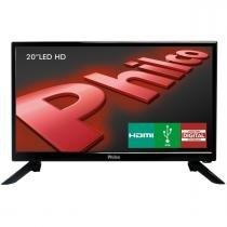 "TV Led Philco 20"" PH20N91D HDMI, USB, Receptor Digital -"