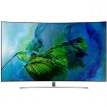 TV LED Samsung QLED 4K UHD 65 QN65Q8CAM com tela de pontos quânticos, HDR1500, Q8C -