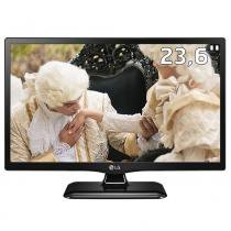 "TV Monitor LED 23,6"" HD LG 24MT47D-PS com Time Machine Ready, Picture in Picture, Entrada HDMI e USB -"