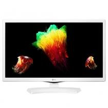 TV Monitor LED 23,6 LG, HD, HDMI, USB, Branca - 24MT48DF-WS -