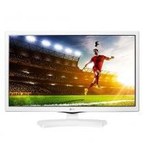 "TV Monitor LED 24"" LG 24MT49DF-WS com Conversor Digital 1 HDMI 1 USB DIVX HD Jogos Integrados -"