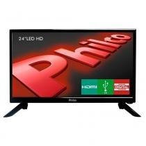 "TV Philco Led HD 24"" PH24N91D Entrada HDMI, USB, Receptor Digital - Philco"