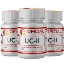 Uc II (Colágeno Tipo 2) 40Mg 90 Cápsulas Com Selo de Autenticidade Oficialfarma s