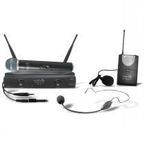 UH02MHLI - Microfone s/ Fio Mão, Headset, Lapela e Instrumento UH 02 MHLI - Lyco - Lyco