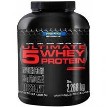 Ultimate 5 Whey Protein Chocolate 2,268Kg - Probiótica