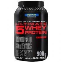 Ultimate 5 Whey Protein Premium Line Baunilha 900g - Probiótica