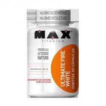Ultimate fire white 60caps max titanium - termogenico - Max titanium