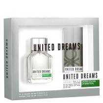 United Dreams Aim High Benetton - Masculino - Eau de Toilette - Perfume + Desodorante - Benetton