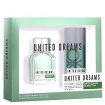 United Dreams Be Strong Benetton - Masculino - Eau de Toilette - Perfume + Desodorante - Benetton