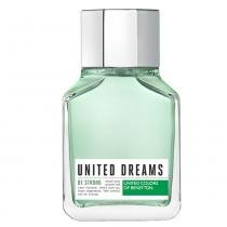 United Dreams Be Strong Benetton - Perfume Masculino - Eau de Toilette - 100ml - Benetton
