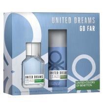 United Dreams Go Far Benetton - Masculino - Eau de Toilette - Perfume + Desodorante -