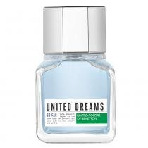 United Dreams Go Far Benetton - Perfume Masculino - Eau de Toilette - 60ml - Benetton