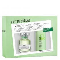 United Dreams Live Free Benetton - Feminino - Eau de Toilette - Perfume + Desodorante -