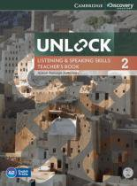 Unlock 2 listening and speaking skills tb with dvd - 1st ed - Cambridge audio visual  book teacher
