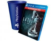Until Dawn para PS4  - Supermassive Games + Copo PlayStation Azul