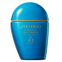 UV Protective Liquid Foundation SPF 43 Shiseido - Base para Rosto - Medium Ivory(SP40 e 50) - Shiseido