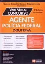 Vade Mecum Concurso Agente Da Policia Federal - Rideel - 1