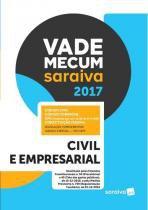 Vade mecum saraiva 2017 - civil e empresarial - Saraiva editora