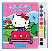 Vamos passear com a Hello Kitty - Livro com aquarela - Vale das letras