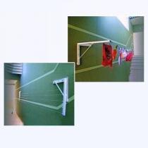 Varal De Muro Parede Mão Francesa Móvel, - Auto mais
