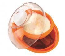 Vasilha para cozinhar ovo e bacon no microondas - Fackelmann