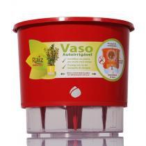 Vaso Autoirrigável Médio - Vermelho (T310) - Raiz autoirrigáveis