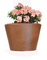 Vaso Cachepô Plantas Textura Anti UV Elegance 30 cm Vime Verdy Vasos -