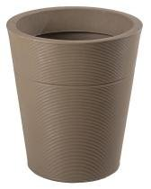 Vaso Cachepô Plantas Textura Anti UV Luna 50 cm Mate Verdy Vasos -