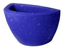 Vaso de Parede Plantas Textura Anti UV Petit Azul Jeans Verdy Vasos -