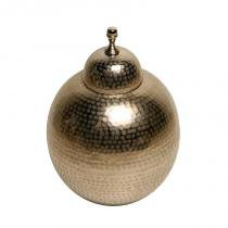 Vaso Decorativo de Metal Snowball - Maria Pia Casa