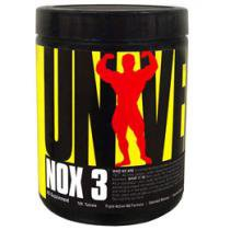 Vasodilatador NOX 3 com 180 Tabletes - Universal Nutrition