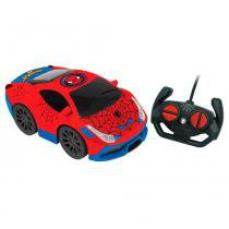 Veículo de Controle Remoto - Disney - Marvel - Spider-Man - Out Run - Candide -
