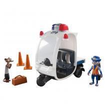 Veículo e Personagem Policial Judy Disney Zootopia 1501 - Sunny - Sunny Brinquedos