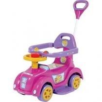 Veículo para Bebê Baby Car Rosa Biemme Brinquedos -