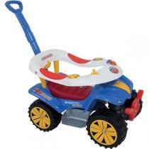 Veiculo Para Bebe Dudu Car C/Empurrador Biemme -