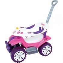 Veiculo Para Bebe Sofy Car C/Empurrador Biemme -
