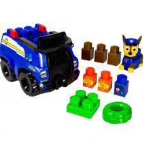 Veículo Policia + Blocos de Montar Patrulha Canina Chase 1314 - Sunny - Sunny Brinquedos