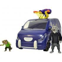 Veículo Zootopia Deluxe Mr Ottertons Capture 1502 - Sunny - Sunny - brinquedos