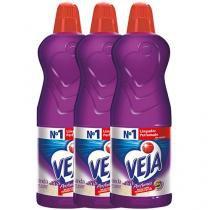 Veja Perfumes - Lavanda e Bem Estar 1L - 3 Unidades