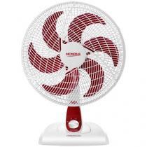 Ventilador de Mesa e Parede Mondial Red Premium - V-49-6P 40cm 3 Velocidades